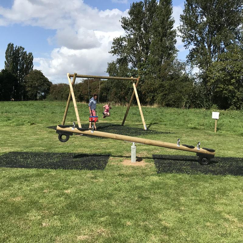 Hale Hill Park swing park